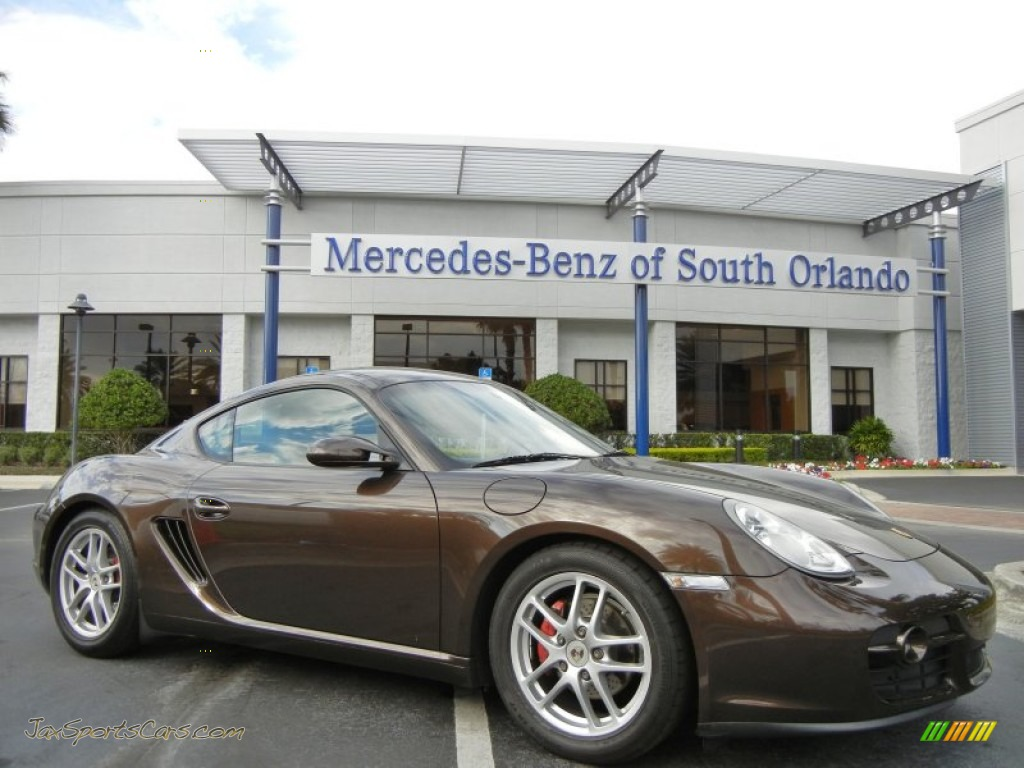 2008 porsche cayman in macadamia metallic 761050 jax sports cars cars for sale in florida. Black Bedroom Furniture Sets. Home Design Ideas
