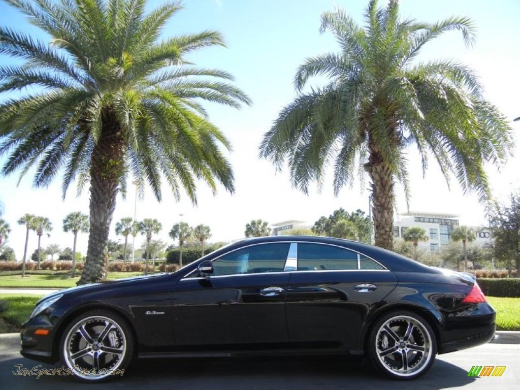 2007 mercedes benz cls 63 amg in black 083361 jax sports cars cars for sale in florida. Black Bedroom Furniture Sets. Home Design Ideas