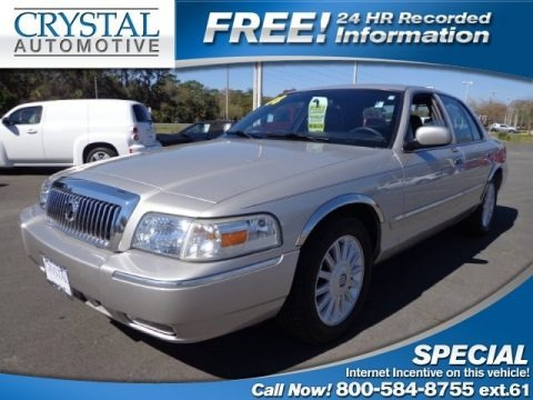 Silver Birch Metallic 2008 Mercury Grand Marquis LS
