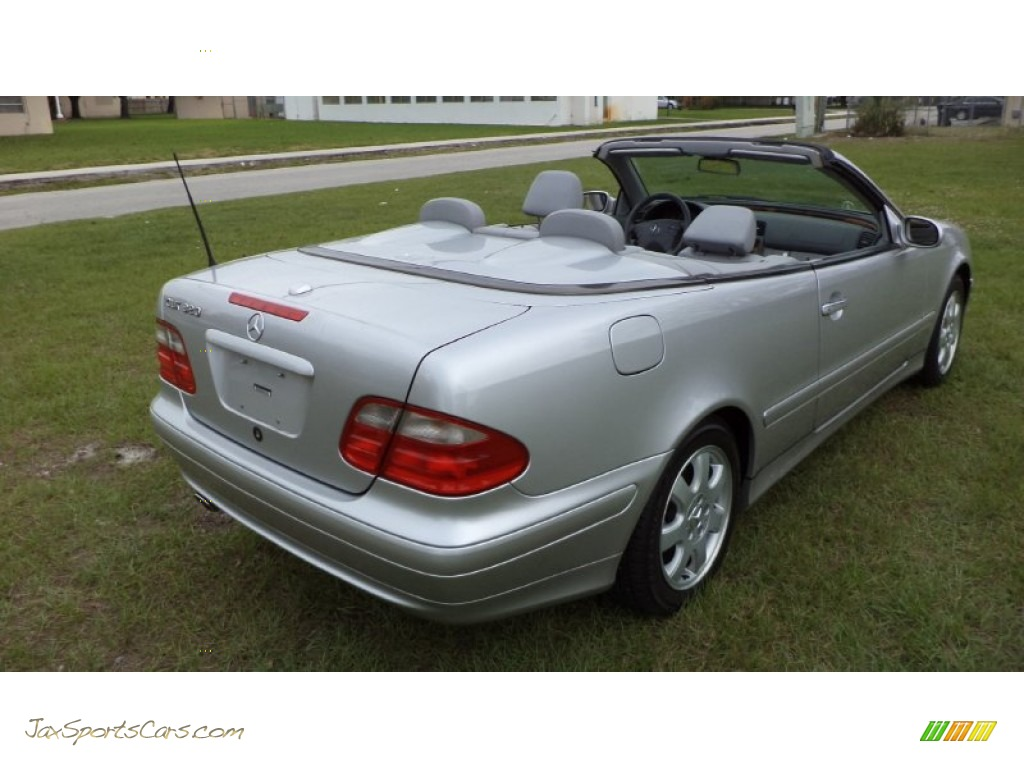 2003 mercedes benz clk 320 cabriolet in brilliant silver for 2003 mercedes benz clk 320