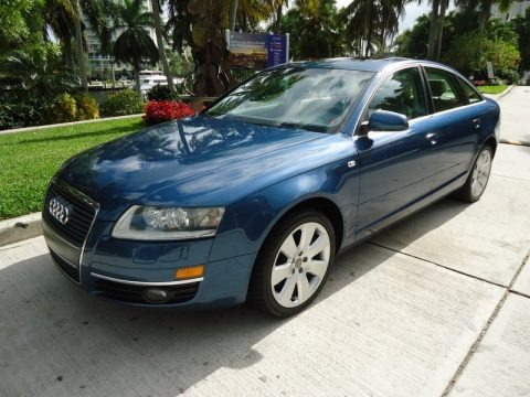 Stratos Blue Pearl Effect 2005 Audi A6 3.2 quattro Sedan