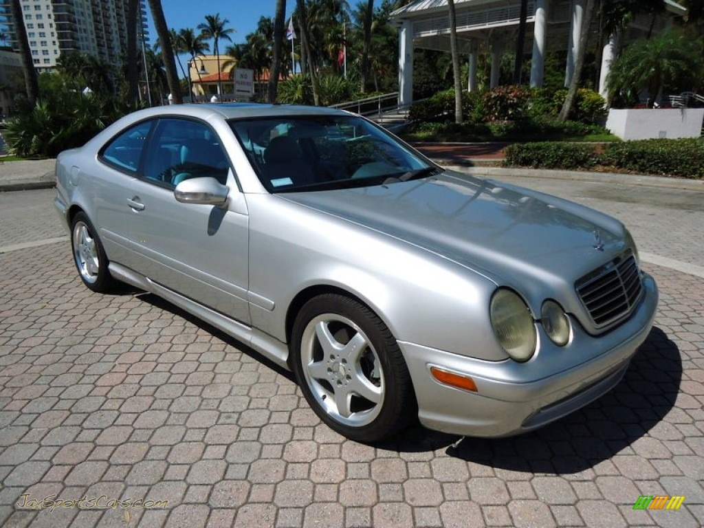 2002 Mercedes Benz Clk 430 Coupe In Brilliant Silver Metallic 122937 Jax Sports Cars Cars