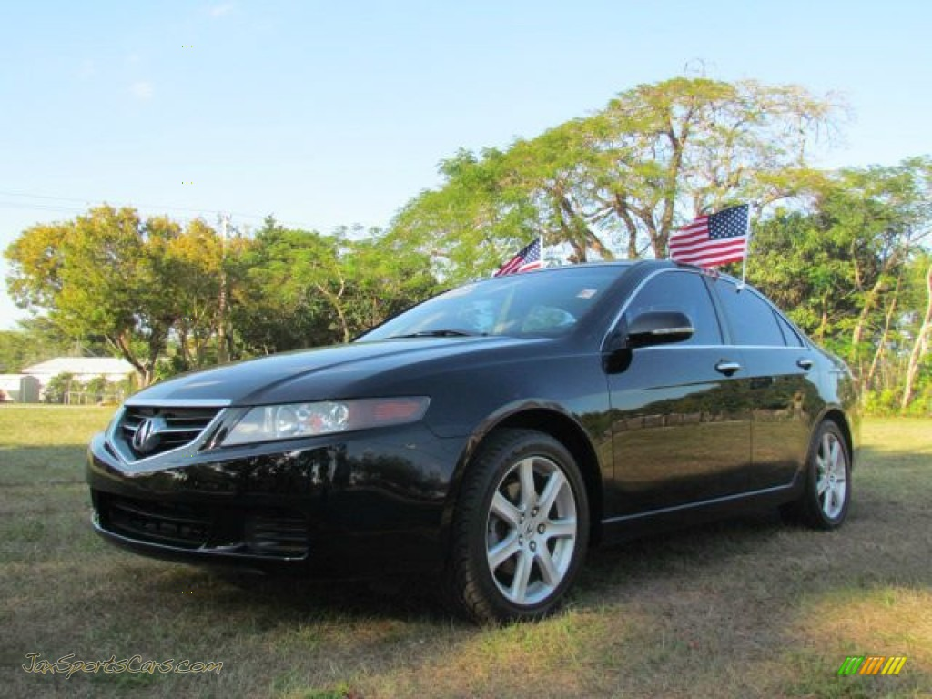 2005 acura tsx sedan in nighthawk black pearl 006888. Black Bedroom Furniture Sets. Home Design Ideas
