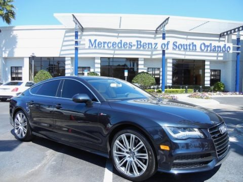 Dakota Grey Metallic 2012 Audi A7 3.0T quattro Prestige