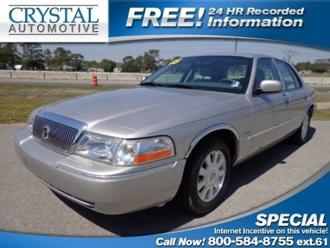 Silver Birch Metallic 2005 Mercury Grand Marquis LS