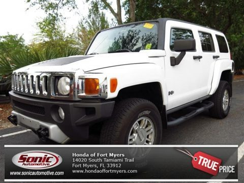 Birch White 2008 Hummer H3 