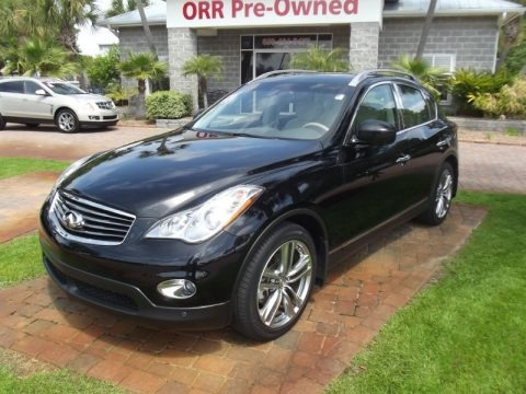 Black Obsidian 2011 Infiniti EX 35 Journey