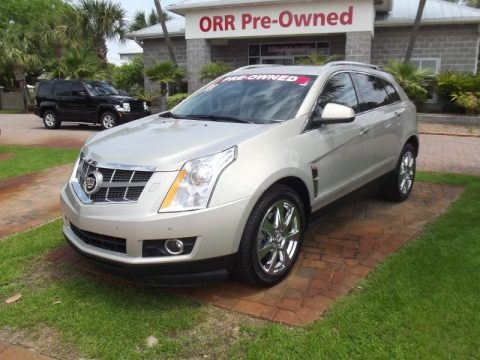 Gold Mist 2010 Cadillac SRX 4 V6 Turbo AWD