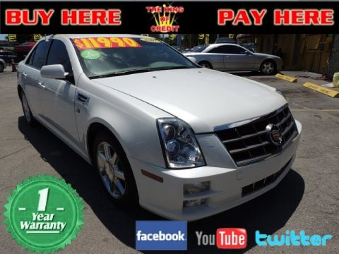 White Diamond 2007 Cadillac STS V6