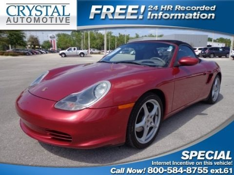 Guards Red 2003 Porsche Boxster