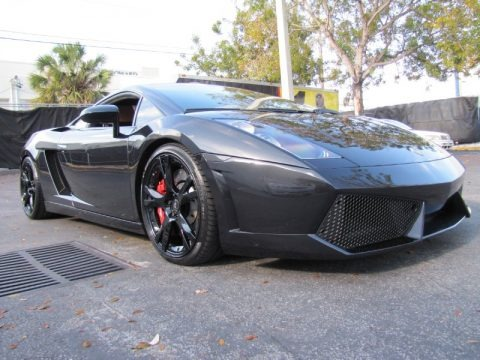 Nero Noctis (Black) 2005 Lamborghini Gallardo Coupe E-Gear