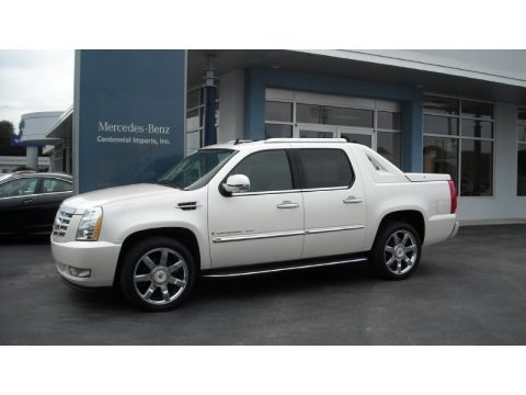 White Diamond 2009 Cadillac Escalade EXT AWD
