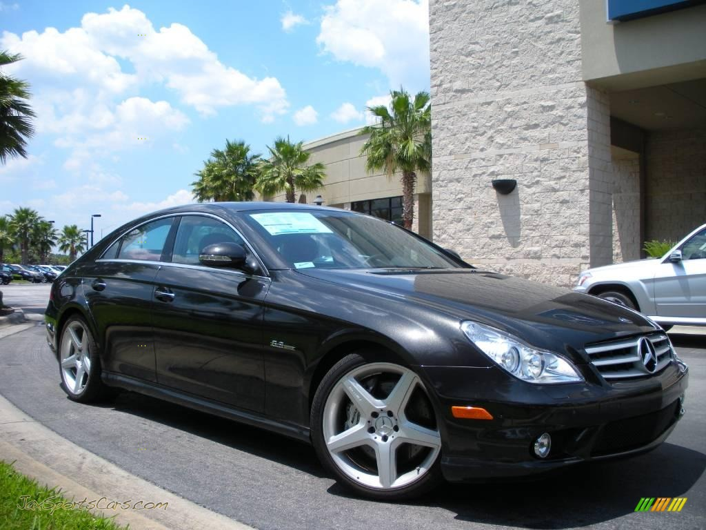 2008 Mercedes-Benz CLS 63 AMG in designo Platinum Black ...