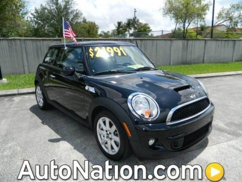 Midnight Black Metallic 2012 Mini Cooper S Hardtop