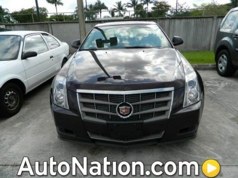 Black Cherry 2008 Cadillac CTS Sedan