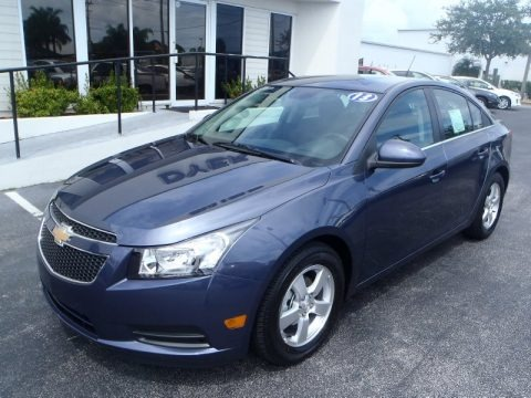 Atlantis Blue Metallic 2013 Chevrolet Cruze LT