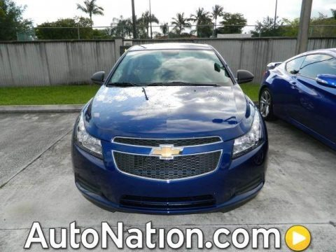 Blue Topaz Metallic 2012 Chevrolet Cruze LS