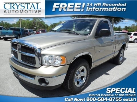 Light Almond Pearl 2004 Dodge Ram 1500 SLT Regular Cab