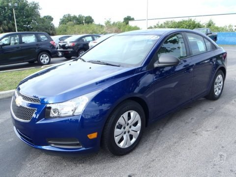Blue Topaz Metallic 2013 Chevrolet Cruze LS