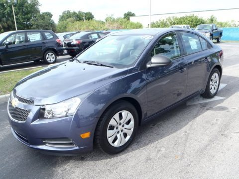 Atlantis Blue Metallic 2013 Chevrolet Cruze LS