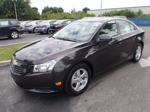 Tungsten Metallic 2013 Chevrolet Cruze LT