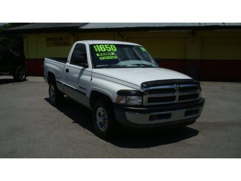 Bright White 1999 Dodge Ram 1500 SLT Regular Cab