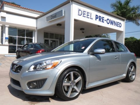 Electric Silver Metallic 2013 Volvo C30 T5 R-Design