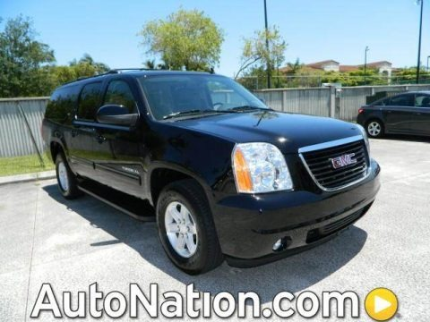 Onyx Black 2013 GMC Yukon XL SLT