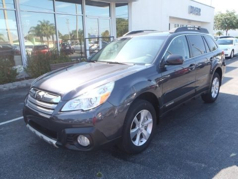 Graphite Gray Metallic 2013 Subaru Outback 3.6R Limited