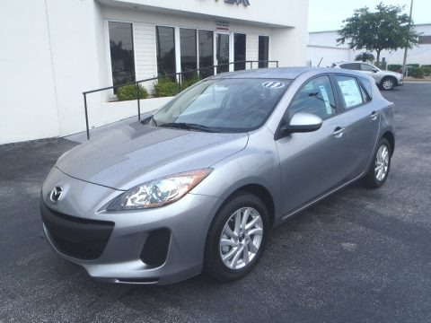 Liquid Silver Metallic 2013 Mazda MAZDA3 i Touring 5 Door
