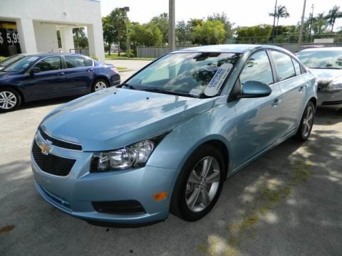 Ice Blue Metallic 2012 Chevrolet Cruze LT