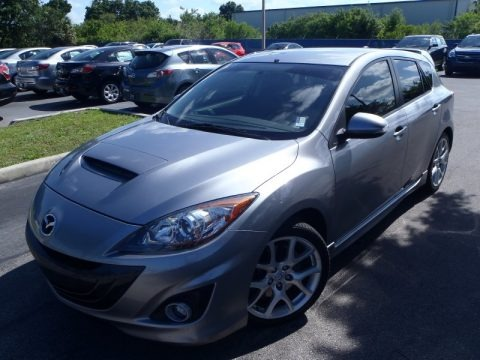 Liquid Silver Metallic 2010 Mazda MAZDA3 MAZDASPEED3 Sport 5 Door
