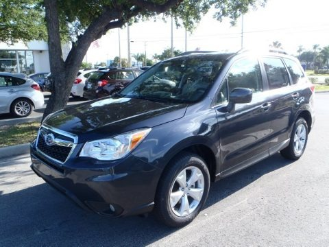 Dark Gray Metallic 2014 Subaru Forester 2.5i Limited