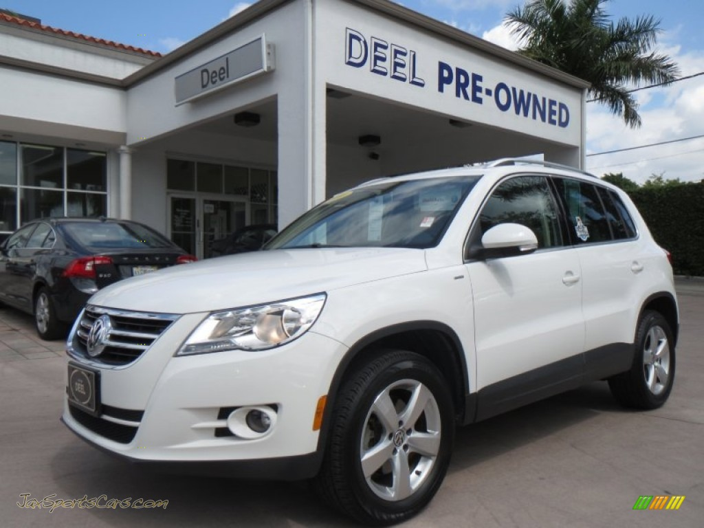 2010 volkswagen tiguan wolfsburg edition in candy white 537278 jax sports cars cars for. Black Bedroom Furniture Sets. Home Design Ideas