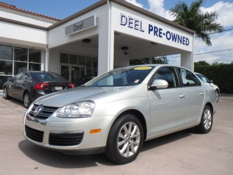 White Gold Metallic 2010 Volkswagen Jetta Limited Edition Sedan