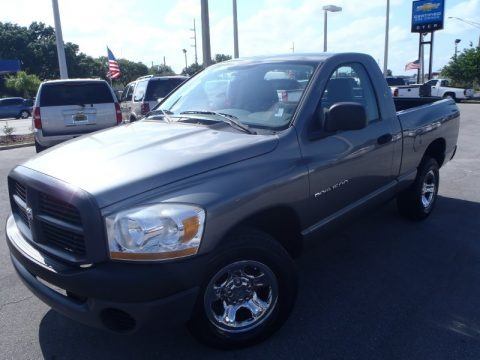 Mineral Gray Metallic 2006 Dodge Ram 1500 ST Regular Cab