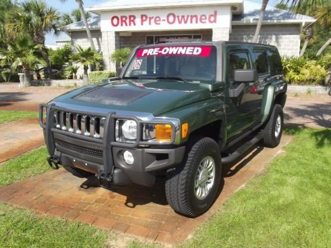 Shadow Green Metallic 2006 Hummer H3 
