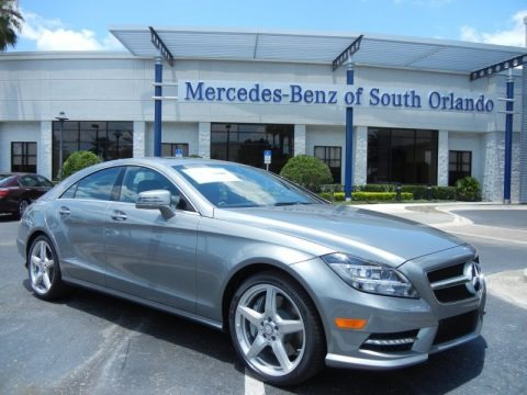 Palladium Silver Metallic 2014 Mercedes-Benz CLS 550 Coupe