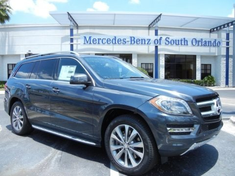Steel Grey Metallic 2013 Mercedes-Benz GL 450 4Matic