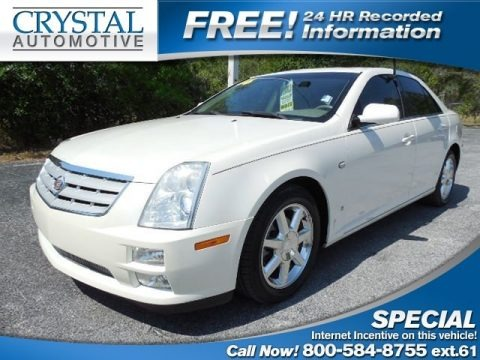 White Diamond 2006 Cadillac STS V6
