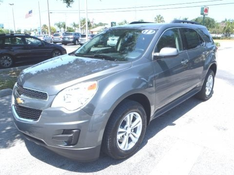 Steel Green Metallic 2013 Chevrolet Equinox LT