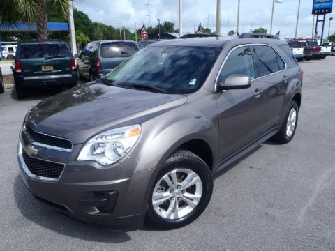 Mocha Steel Metallic 2011 Chevrolet Equinox LT