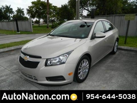 Gold Mist Metallic 2011 Chevrolet Cruze ECO