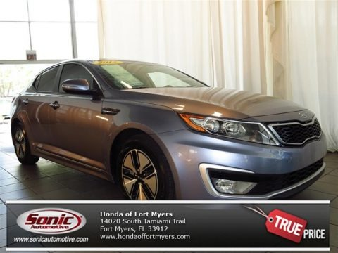 Light Graphite 2012 Kia Optima Hybrid