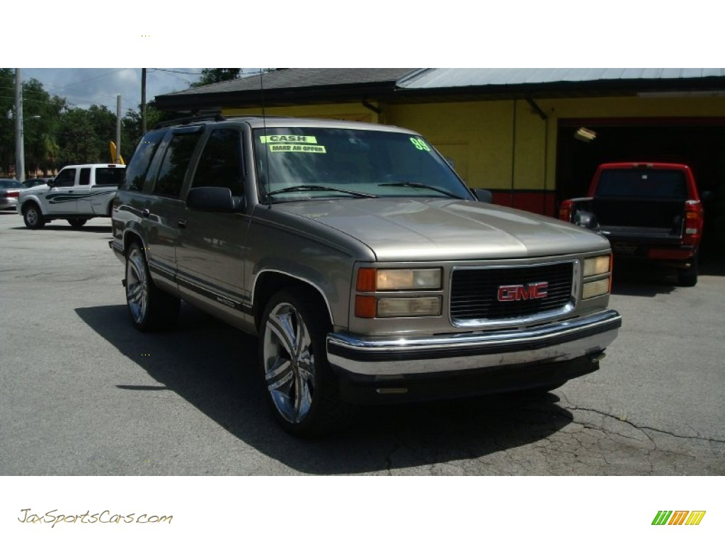 1998 gmc yukon sle in pewter metallic 514219 jax. Black Bedroom Furniture Sets. Home Design Ideas