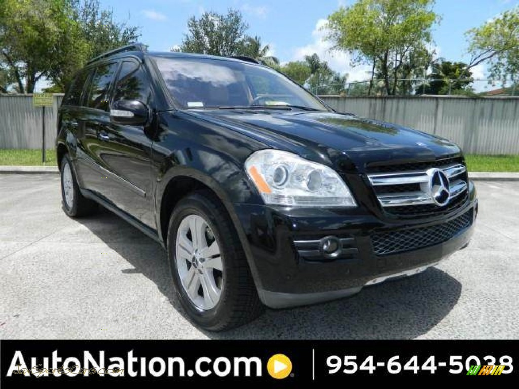 2007 mercedes benz gl 450 in black 197711 jax sports for Autonation mercedes benz pembroke pines