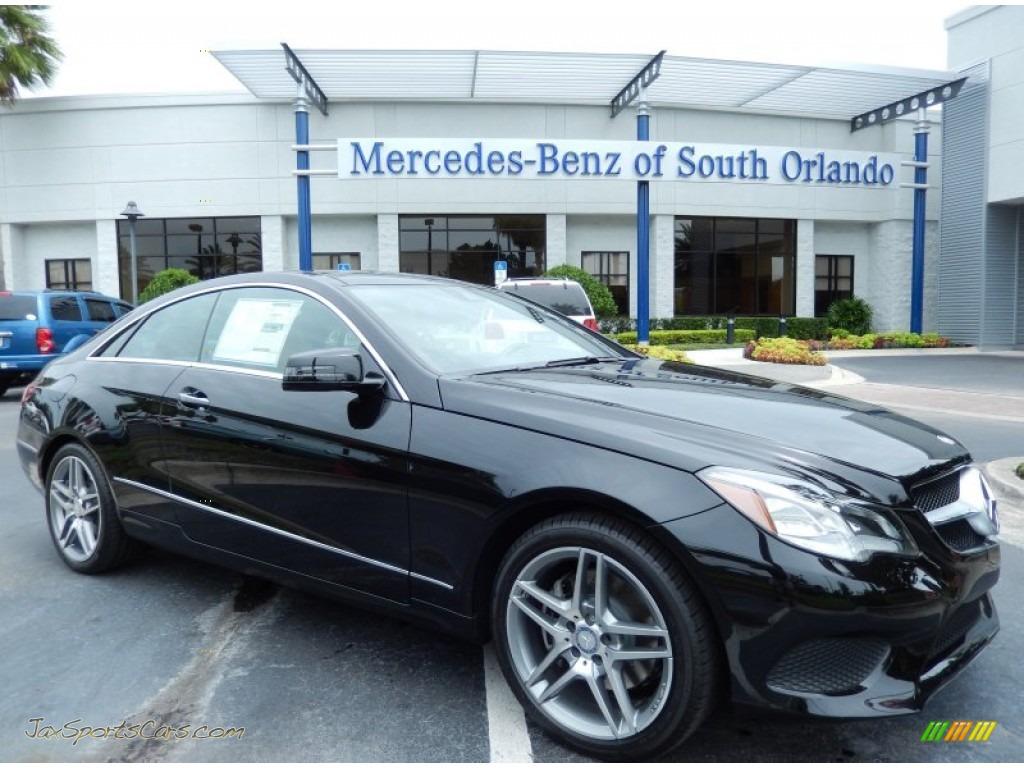 2014 mercedes benz e 350 coupe in obsidian black metallic for Mercedes benz of south orlando