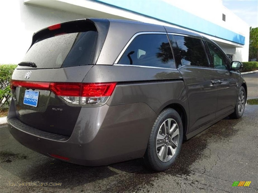 2014 Honda Odyssey Touring Elite In Smoky Topaz Metallic