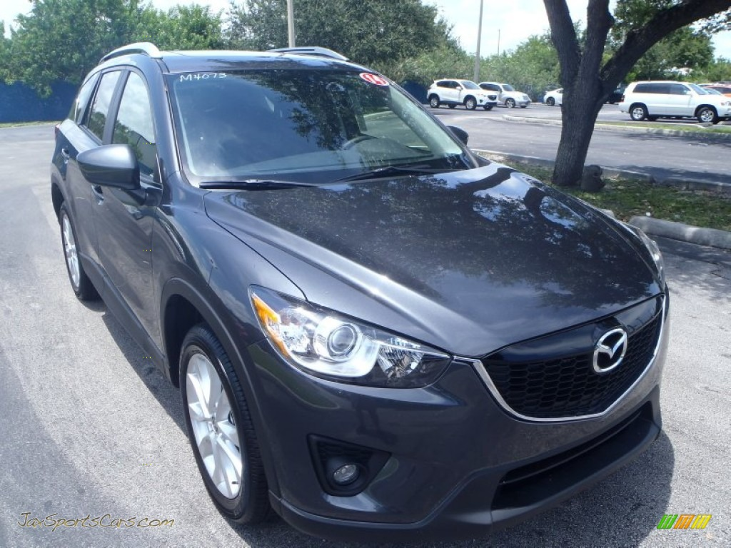 2014 mazda cx 5 grand touring in meteor gray mica   363996 jax sports cars   cars for sale in