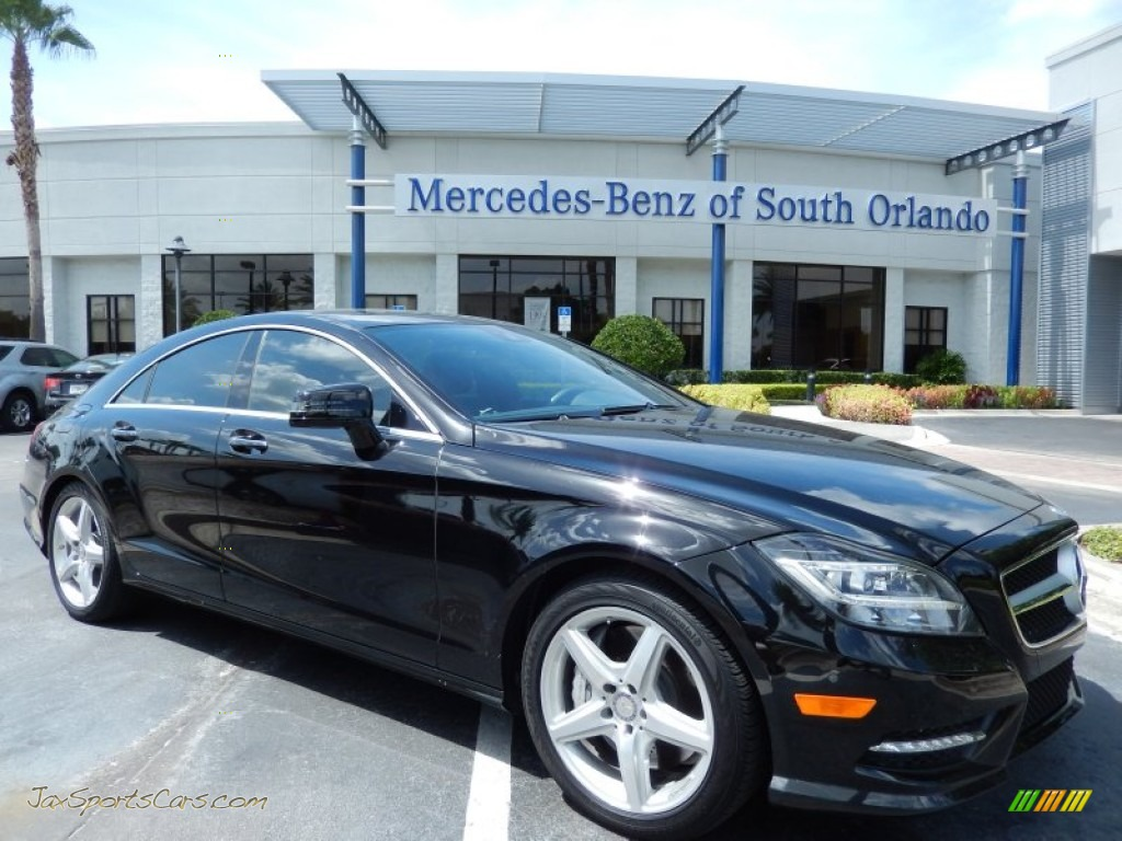 2013 mercedes benz cls 550 coupe in black 060180 jax sports cars cars for sale in florida. Black Bedroom Furniture Sets. Home Design Ideas